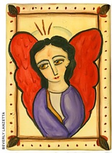 Angel with Red Wings, Beverly Lanzetta