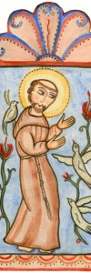 St. Francis and Birds
