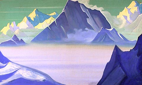Nicholas Roerich, Land of Snow People